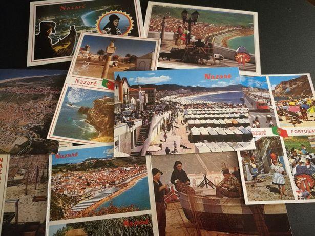 11 postais antigos de Nazaré