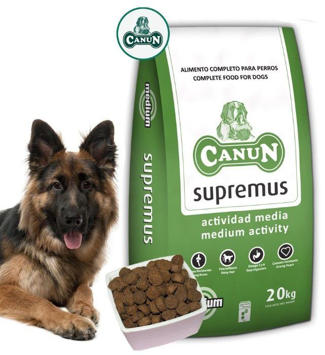 Karma dla psa CANUN SUPREMUS 20 kg dla Owczarka Labradora Goldena