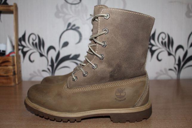 Ботинки кожаные timberland оригинал waterproof 38 p