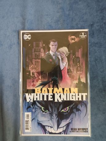 Комикс Batman white knight