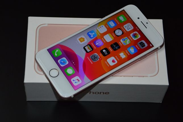 Apple iPhone 7 Rose Gold 32GB / Komplet w kartonie / A1778/