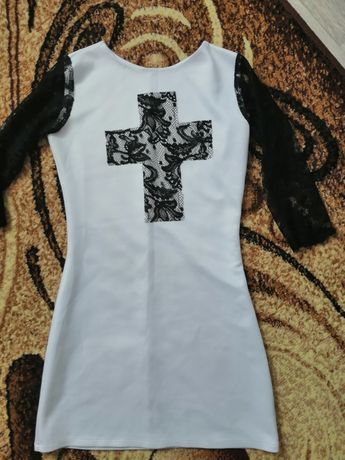 Женское платье\жіноча сукня біла\белая