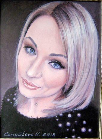 Портрет на заказ, картина, живопись