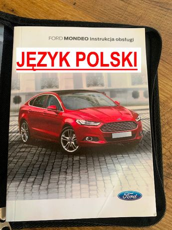Książka instrukcja FORD MONDEO język POLSKI mk5 2014 do 2020r obsługii