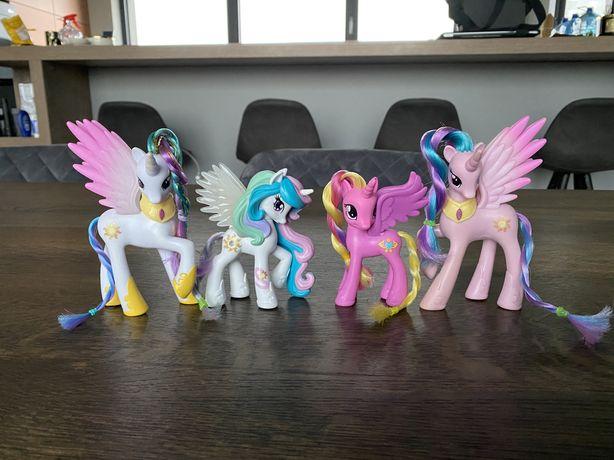 My Little Pony 4 księżniczki Hasbro 10-11 cm Polecam
