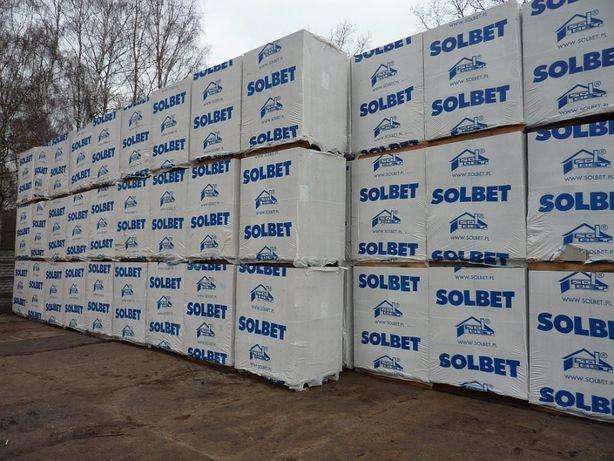 Pustak bloczek 24x24x49P+W biały gazobeton beton komórkowy +trans.HDS