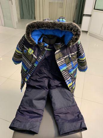 Зимний костюм, куртка, полукомбинезон