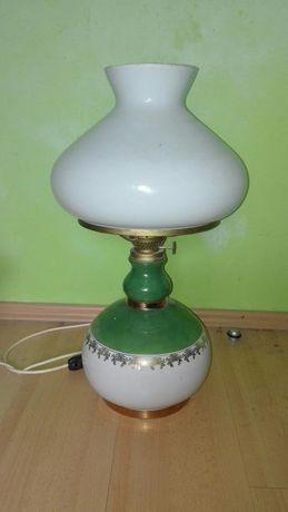 Lampa ozdobna,imitacja naftowej.Czasy PRL