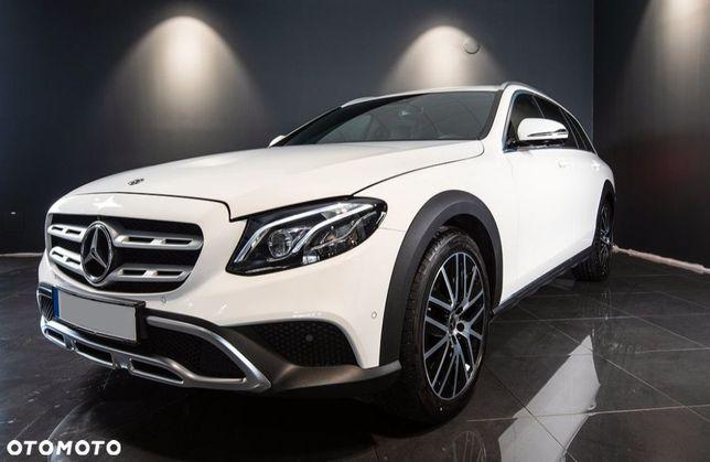 Mercedes-Benz Klasa E 4Matic All Terrain Pneumatyka Burmester Kamery 360 MultiBeam FV23%