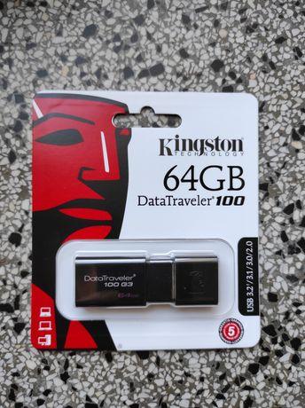 Pendrive Kingston 64GB DataTraveler 100 G3 (USB 3.0)