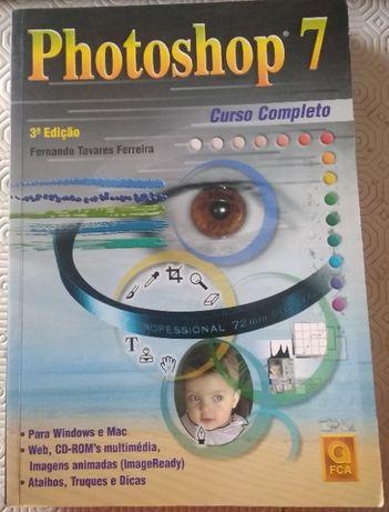 Livro Photoshop 7 - Curso Completo 3ª Edição FCA - Grupo LIDEL