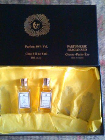 часть комплекта духов Fragonard(France):2*6ml(parfum 80% Vol)