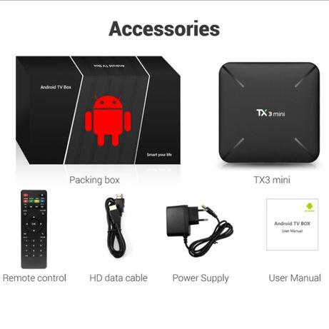 TX3 mini H 2-16 ГБ тв приставка смарт андроид, tv box x96, xiaomi tx