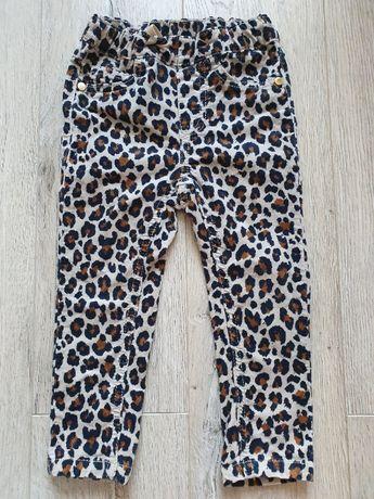 KappAhl spodnie sztruksowe 86 cm