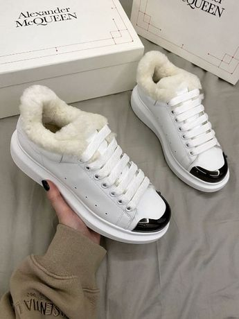 Fur White Metal Fur mcqueen