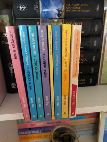 8 książek Pamiętnik księżniczki 1-7 Meg Cabot