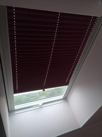 Roleta zaciemniająca na okno dachowe