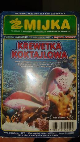 Krewetka mrożonka pokarm dla ryb