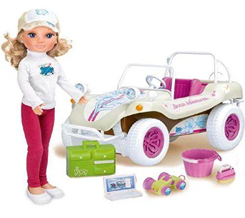 NANCY-śliczna lalka,auto jeep- zestaw lalka podróżnik weterynarz -70%
