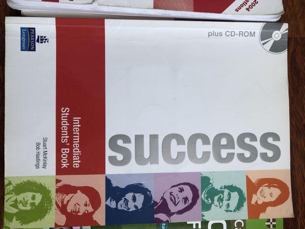 Sucess Intermidiate Students' Book + Work book