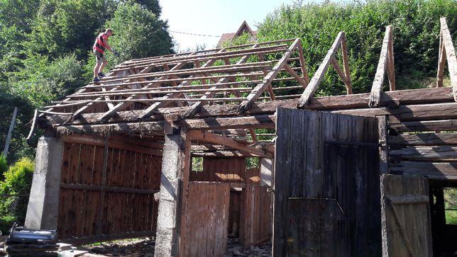 skup stodół desek starego drewna