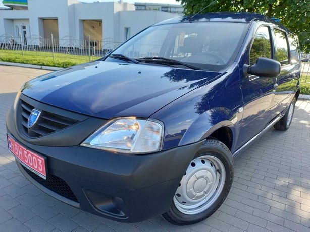 Dacia Logan MCV MPI ABS Airbag 2009 НЕ БИТ НЕ КРАШЕН TUV