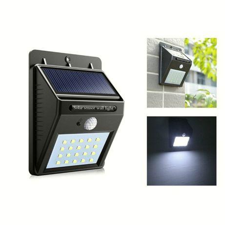 Светильник фонарь на солнечной батарее уличный everBrite c датчико