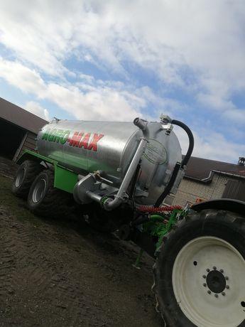 Wywóz gnojowicy, gnojówki Wozem Asenizacyjnym Agro-Max 20 tys.l