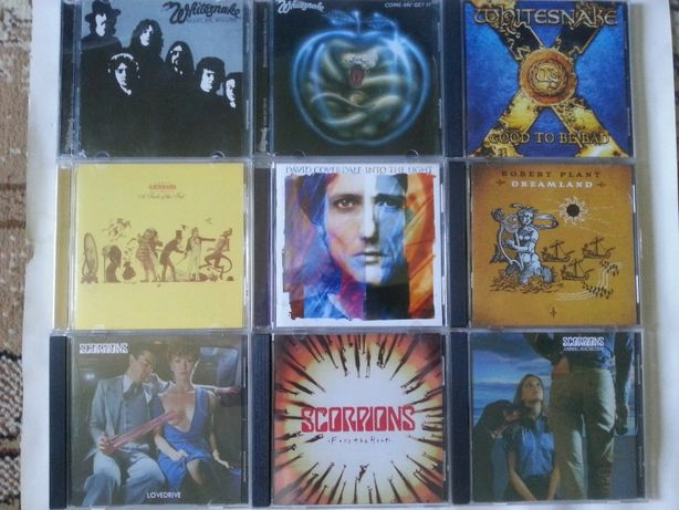 White Snake/Scorpions/Camel/cd.
