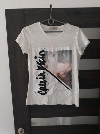 T-shirt koszulka damska Calvin Klein r S 36 oryginalny