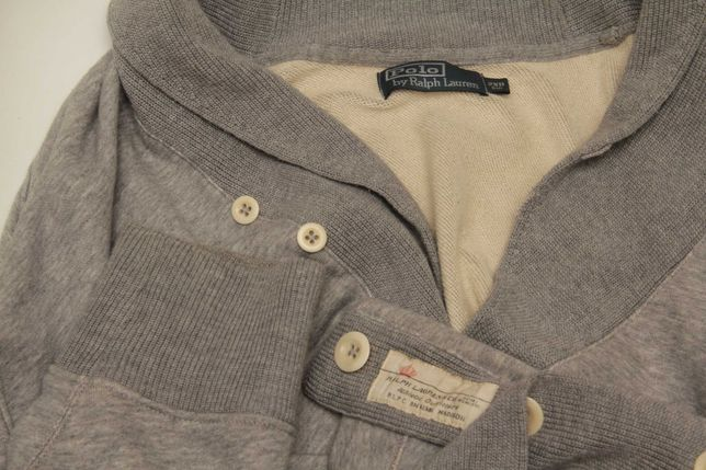 Polo Ralph Lauren 2XB XXLB shawl collar кардиган из хлопка на богатыря