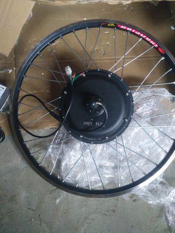 Установка мотор колес на велосипед