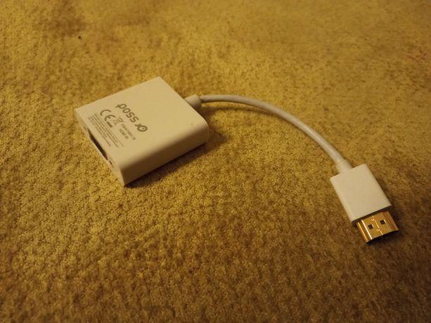 Adapter, przejściówka, konwerter VGA na HDMI