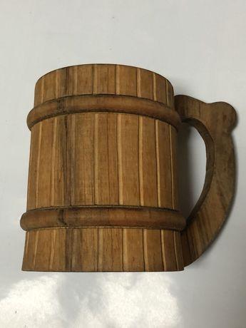 Кухоль, кружка, бокал, келих, 0,5 л. Ручна робота.