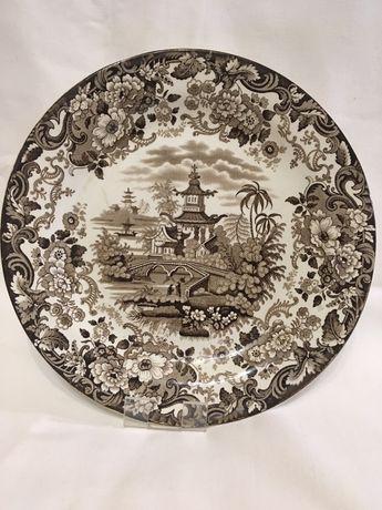 Декоративна антикварна тарілка
