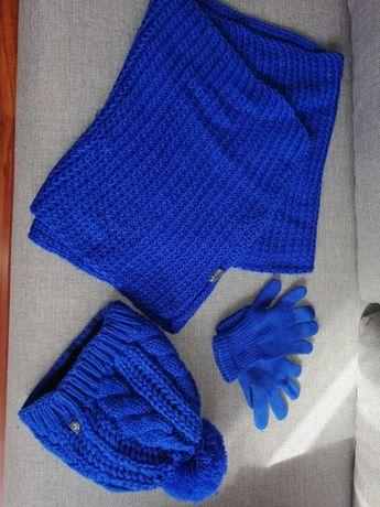Komplet zimowy niebieski