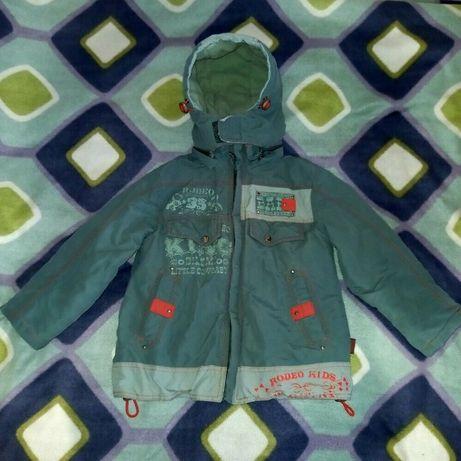 Демисезонная курточка для мальчика 4-5 лет,осенняя детская курточка,ку