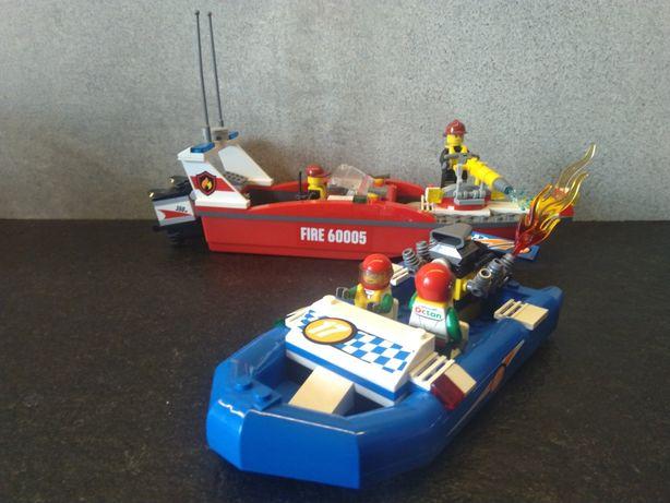Lego City 60005 Fire Boat Łodź strażacka klocki zestaw komplet