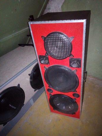 Kolumny głośnikowe estradowe