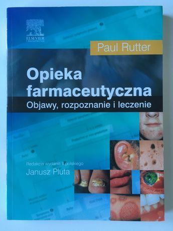 Opieka farmaceutyczna Paul Rutter podręcznik książka farmacja jak nowa