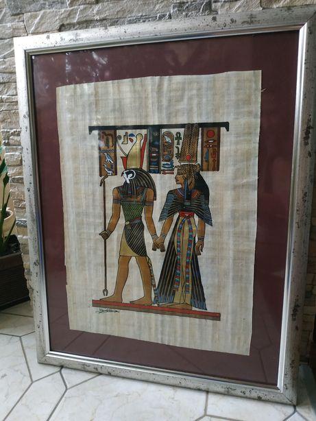 Єгипетський папірус в рамці