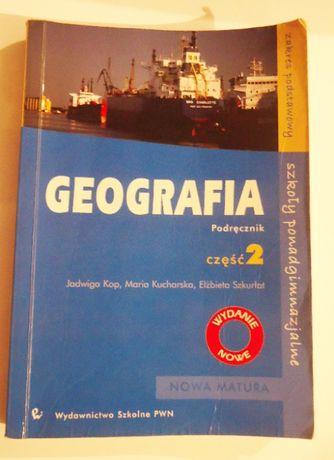 Geografia część 2 zakres podstawowy