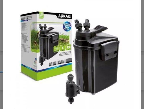 Filtr zewnętrzny z lampą UV plus gratis