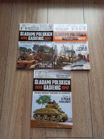 Śladami polskich gąsienic tom 1, 2 i 3