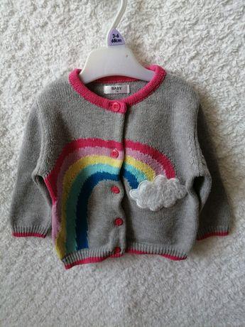 Sweterek dziewczynka 74
