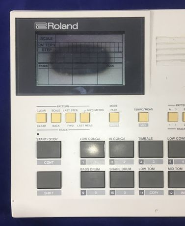 lcd roland TR  fix repair