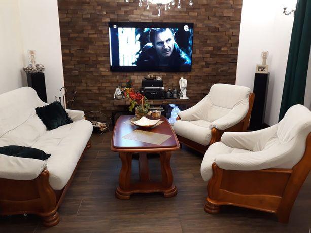 Meble , Komoda , Stół , krzesła , zestaw wypoczynkowy , zegar , komody
