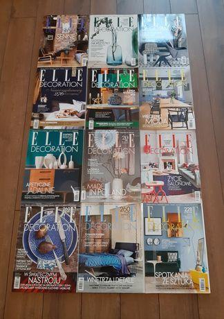 Magazyn wnętrzarski Elle Decoration archiwalne numery Nowe