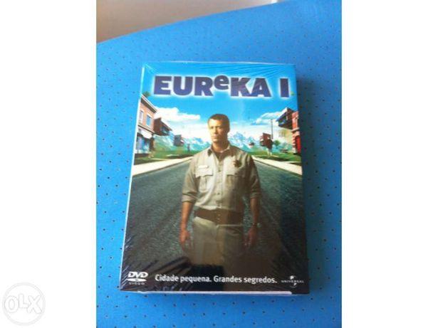 Vendo Série EUREKA 1ª Temporada Completa Nova na Caixa
