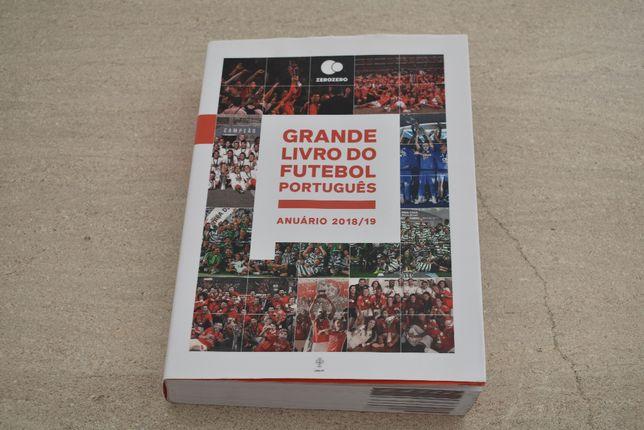 Vendo livro Grande Livro do Futebol Português - Anuário 2018/2019
